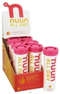Nuun - All Day Hydration Vitamin Enhanced Drink Tabs Grapefruit Orange - 15 Tablets, from category: Sports Nutrition