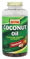 Image of Health From The Sun - 100% Vegetarian Coconut Oil - 180 Vegetarian Softgels