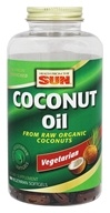 Health From The Sun - Coconut Oil From Raw Organic Coconuts - 180 Vegetarian Softgels