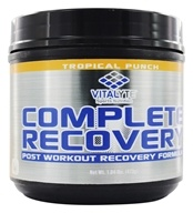 Vitalyte - Complete Recovery Post Workout Formula Tropical Punch - 20 Servings - 1.04 lbs. (083628044250)