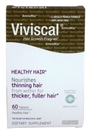 Viviscal - Healthy Hair From Within Marine Enriched Tabs With Grape Seed Extract - 60 Tablets