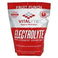 Vitalyte - Electrolyte Replacement Drink Mix 80 Servings Fruit Punch - 35 oz.