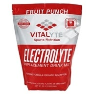 Vitalyte - Electrolyte Replacement Drink Mix Fruit Punch - 80 Servings - 35 oz. (083628005015)