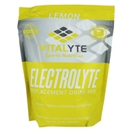 Vitalyte - Electrolyte Replacement Drink Mix Lemon - 80 Servings - 35 oz. by Vitalyte