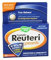Nature's Way - Primadophilus Reuteri Pearls - 60 Pearl(s), from category: Nutritional Supplements