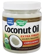 Image of Nature's Way - EfaGold Organic Pure Extra Virgin Coconut Oil - 32 oz.