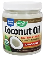 Nature's Way - EfaGold Organic Pure Extra Virgin Coconut Oil - 32 oz.