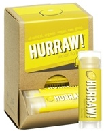 Hurraw Balm LLC - Lip Balm Lemon - 0.15 oz. CLEARANCE PRICED
