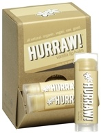 Hurraw Balm LLC - Lip Balm Vanilla Bean - 0.15 oz. CLEARANCE PRICED