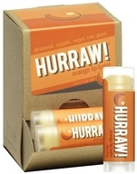 Hurraw Balm LLC - Lip Balm Orange - 0.15 oz. CLEARANCE PRICED, from category: Personal Care