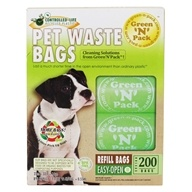 Green 'N' Pack Eco Friendly Bags - Dog Poo Bags 75 Day Pack - 200 Bags (854347002100)