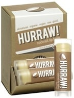 Image of Hurraw Balm LLC - Lip Balm Coconut - 0.15 oz. CLEARANCE PRICED