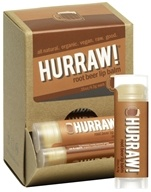 Image of Hurraw Balm LLC - Lip Balm Root Beer - 0.15 oz. CLEARANCE PRICED