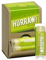 Hurraw Balm LLC - Lip Balm Lime - 0.15 oz. CLEARANCE PRICED (837654700563)