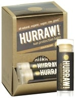 Image of Hurraw Balm LLC - Sun Protection Lip Balm Tangerine Chamomile 15 SPF - 0.15 oz. CLEARANCE PRICED