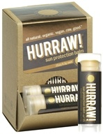 Hurraw Balm LLC - Sun Protection Lip Balm Tangerine Chamomile 15 SPF - 0.15 oz. CLEARANCE PRICED by Hurraw Balm LLC