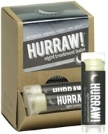 Image of Hurraw Balm LLC - Night Treatment Lip Balm Blue Chamomile Vanilla - 0.15 oz. CLEARANCE PRICED