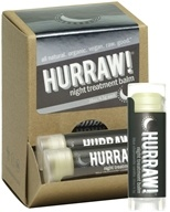Hurraw Balm LLC - Night Treatment Lip Balm Blue Chamomile Vanilla - 0.15 oz. CLEARANCE PRICED (837654700679)