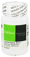 DaVinci Laboratories - Chewable B12+ 1000 mg. - 100 Chewable Tablets (026664212214)