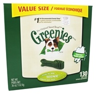Greenies - Dental Chews For Dogs Teenie (For Dogs 5-15 lbs.) - 130 Chew(s) (642863101007)