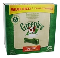 Greenies - Dental Chews For Dogs Petite (For Dogs 15-25 lbs.) - 60 Chew(s)
