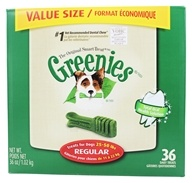 Greenies - Dental Chews For Dogs Regular (For Dogs 25-50 lbs.) - 36 Chew(s) (642863101045)