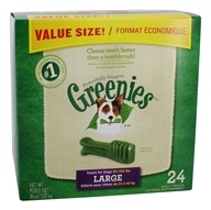 Greenies - Dental Chews For Dogs Large (For Dogs 50-100 lbs.) - 24 Chew(s) (642863101069)