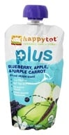 HappyBaby - Happy Tot Plus Blueberry, Apple, Purple Carrot - 4.22 oz., from category: Health Foods