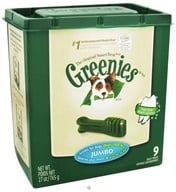 Greenies - Dental Chews For Dogs Jumbo (For Dogs Over 100 lbs.) - 9 Chew(s) CLEARANCE PRICED - $24.62