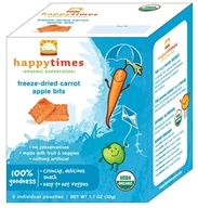 Image of HappyBaby - Happy Times Organic Crazy Crunchies - 5 Pouches