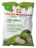 HappyBaby - Happy Munchies Organic Rice Cakes Apple - 1.4 oz.