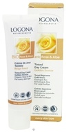 Logona - Tinted Day Cream Organic Rose & Aloe Golden Bronze - 1 oz. CLEARANCE PRICED - $11.95