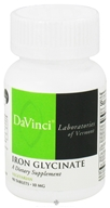 Image of DaVinci Laboratories - Iron Glycinate 10 mg. - 90 Vegetarian Tablets