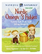 Image of Nordic Naturals - Nordic Omega-3 Fishies - 36 Count
