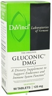 DaVinci Laboratories - Gluconic DMG 125 mg. - 90 Vegetarian Tablets (026664238092)