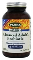 Flora - Udo's Choice Advanced Adult's Probiotic - 60 Capsules (061998619704)