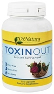 DrNatura - Toxinout Heavy Metal/Toxin Removal Support - 110 Vegetarian Capsules by DrNatura