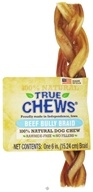 Image of True Chews - Beef Bully Braid For Dogs - 6 in.