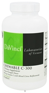DaVinci Laboratories - Chewable C-300 Orange-Pineapple Flavor 300 mg. - 90 Vegetarian Tablets