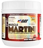 GAT - Muscle Martini Amino Acid Drink Mixed Berry Candy - 30 Servings - 365 Grams by GAT