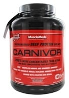 MuscleMeds - Carnivor Bioengineered Beef Protein Isolate Chocolate - 4.6 lbs. by MuscleMeds