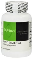 DaVinci Laboratories - Zinc Lozenge Lemon Flavored - 60 Lozenges
