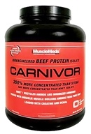 MuscleMeds - Carnivor Bioengineered Beef Protein Isolate Cherry Vanilla - 4.32 lbs., from category: Sports Nutrition