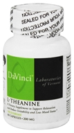 DaVinci Laboratories - L-Theanine 200 mg. - 60 Vegetarian Capsules