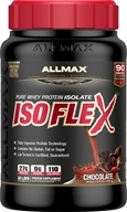 Image of AllMax Nutrition - Isoflex Whey Protein Isolate Chocolate - 2 lbs.