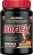 AllMax Nutrition - IsoFlex Pure Whey Protein Isolate Chocolate Peanut Butter - 2 lbs.