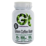 Genesis Today - Pure Green Coffee Bean 400 mg. - 60 Vegetarian Tablets by Genesis Today