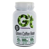 Genesis Today - Pure Green Coffee Bean 400 mg. - 60 Vegetarian Tablets, from category: Diet & Weight Loss