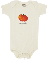 Image of Kee-Ka - 100% Organic Cotton Short Sleeve BodySuit With Wearable Greetings Gift Box Pumpkin 6-12 Months - CLEARANCE PRICED
