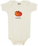 Image of Kee-Ka - 100% Organic Cotton Short Sleeve BodySuit With Wearable Greetings Gift Box Pumpkin 6-12 Months